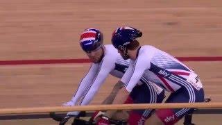 Madison - 2016 UCI Track Cycling World Championships
