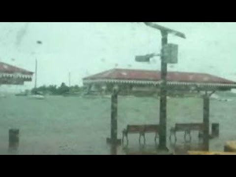 Reporter: Hurricane has cut off communication with Barbuda