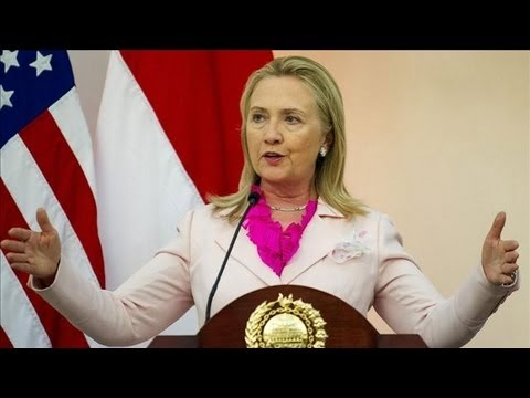 Secretary of State Hilary Clinton Addresses Sensitive Issues with China