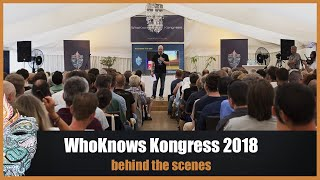 WhoKnows Kongress 2018 - behind the scenes - #Backstage :-)