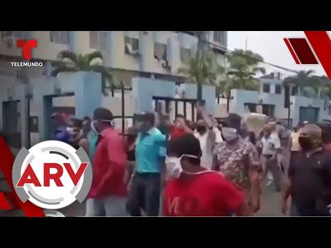 Caos en Venezuela tras escasez de productos en la pandemia | Al Rojo Vivo | Telemundo