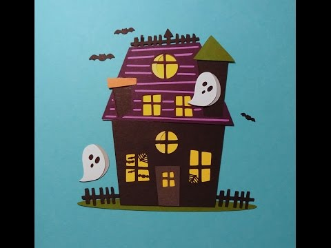 "Super Cute Halloween ""Haunted House"" - Paper Piecing #10"