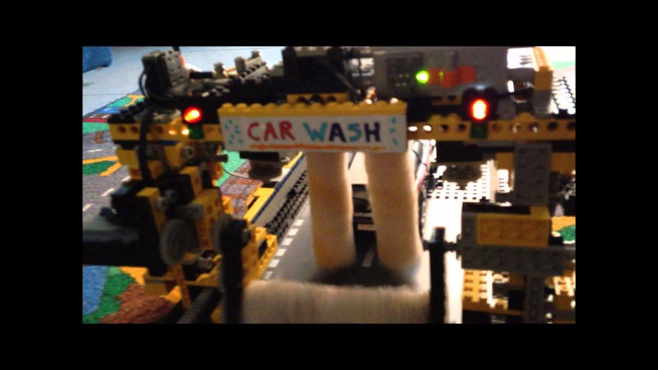 Shell Gas Station Car Wash >> car wash lego - YouTube