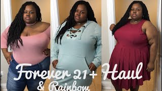 Plus Size Forever 21+ and Rainbow Haul (2017)   Try-On