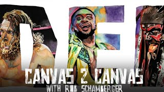 The ABCs of WWE – Daniel Bryan, Big E, and Finn Bálor: WWE Canvas 2 Canvas