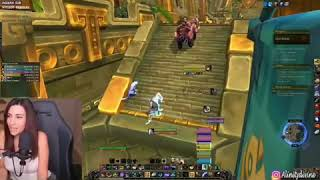 GIRL FARTS WHILE LIVE STREAMING A ONLINE GAME