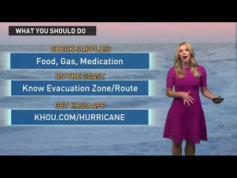 Houston weather forecast & Tropical Storm Harvey update - 4:50 a.m.