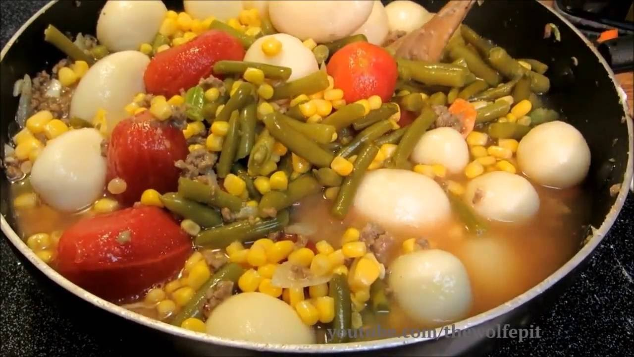 Vegetable Beef Soup How To Make Vegetable Soup