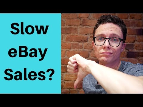 Why Are My eBay Sales so slow!? Did eBay algorithm changes cause a dip?