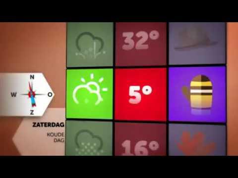 Karrewiet Het weer voor het weekend - YouTube