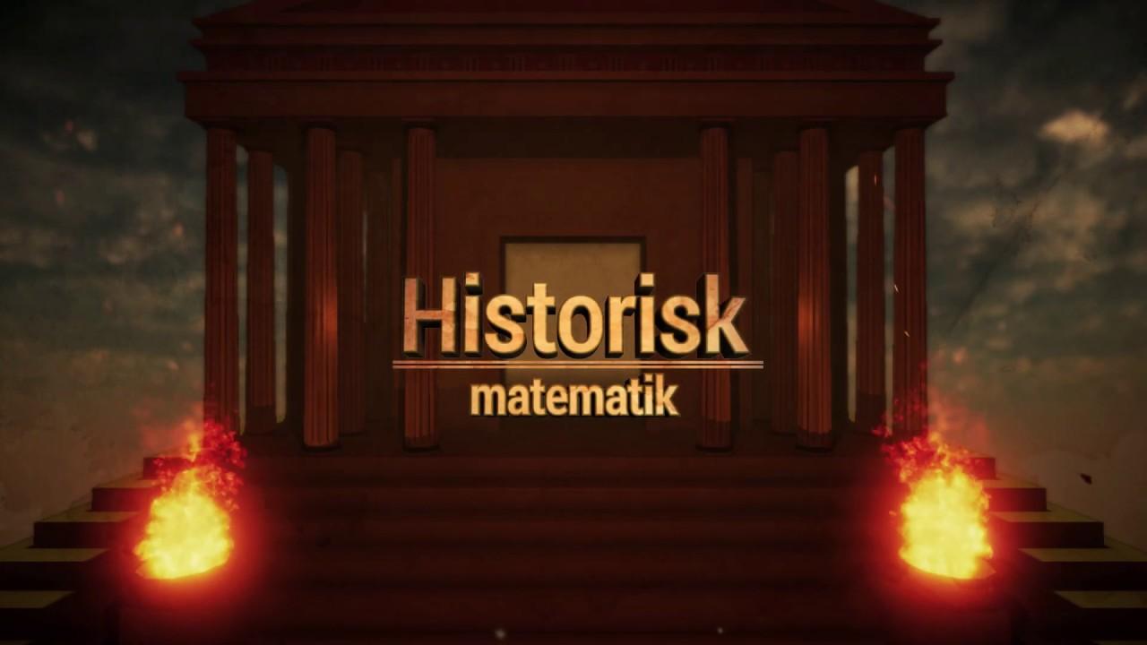 Historisk Matematik på MatematikFessor