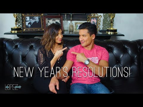 Courtney and Mario Lopez's New Year Resolutions for Each Other