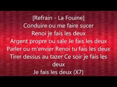 La Fouine Ft Kozi - Fais Les 2 avec Paroles/Lyrics