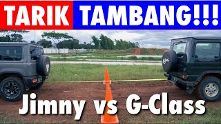 OFF-ROAD CHALLENGE: G-Class vs Jimny | part 2