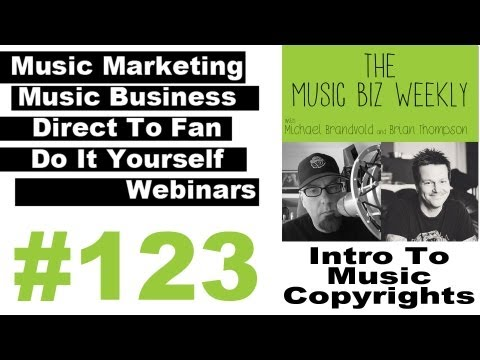 An Introduction to Music Copyright with Entertainment Attorney Ian Gibson on Music Biz Weekly