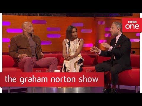 Martin Freeman has a fear of choking  The Graham Norton    BBC