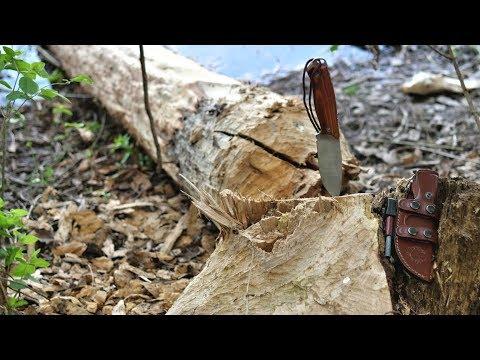 Dehler Waidstahl Crafter und -Skinner (Messer für die Bushcraft-Küche)