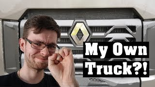I Get My Own Truck?!