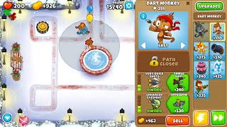 Bloons TD 6 - Easy, Primary Monkey's Only, Winter Park, (NO MONKEY KNOWLEDGE)