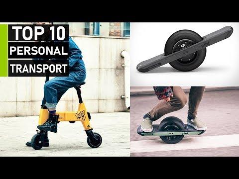 Top 10 Smartest Personal Transport Gadget Innovations