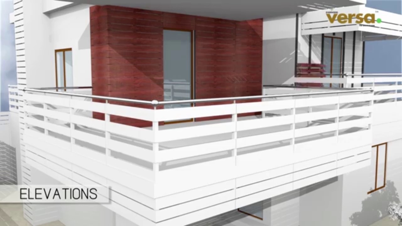 Versa Plank WPC Elevation Ideas - YouTube