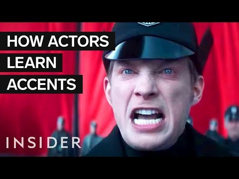 How Actors Learn Different Accents For Movies