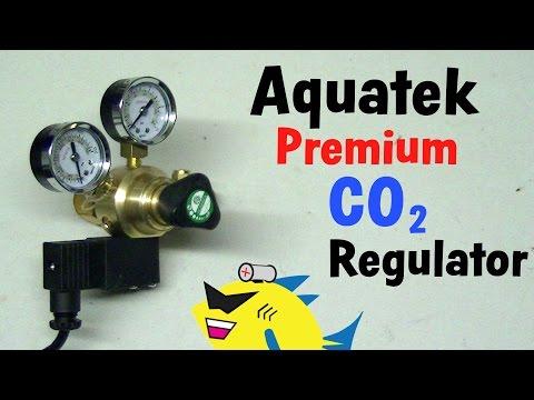Aquatek Premium Regulator: Aquarium Pressurized CO2 System