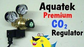 aquatek premium regulator aquarium pressurized co2 system