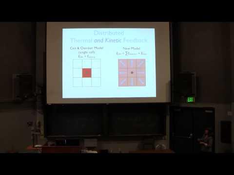 """Christine Simpson """"Momentum feedback in dwarf galaxy simulations"""""""