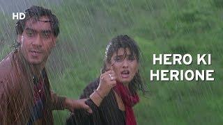 Ajay Devgn Saves Raveena Tandon   Ek Hi Raasta   Hindi Action Movie