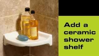 How To Install A Ceramic Shower Shelf