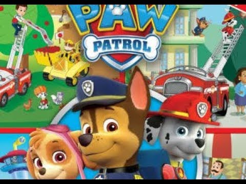 Paw Patrol Seek and Find Book!  It's story time!