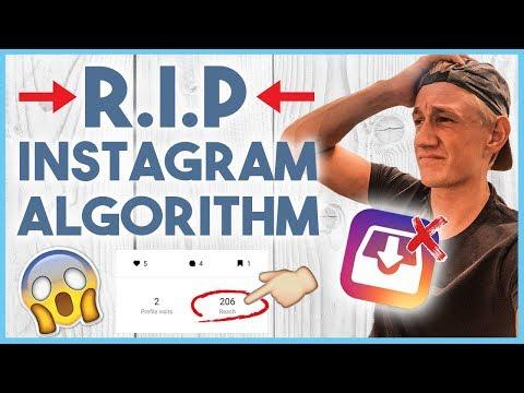 😑 THE INSTAGRAM ALGORITHM IS TAKING A TURN... (Algorithm Updates September 2018) 😑