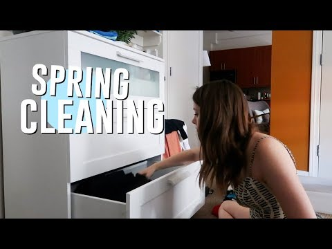 SPRING CLEAN WITH ME! cleaning out my bedroom! // Jill Cimorelli