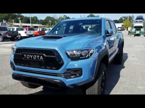 2018 Toyota Tacoma TRD Pro New Cavalry Blue - YouTube