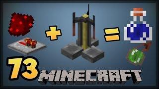 Otomatik İksir Sistemi Yapıyoruz | Bölüm 73 | Minecraft Survival |