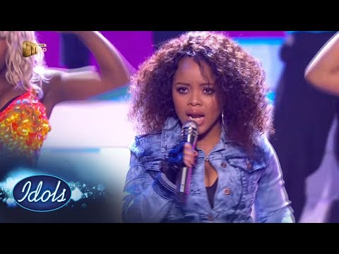 Top 7 Showstopper: Thando -  'Single Ladies' – Idols SA | Mzansi Magic