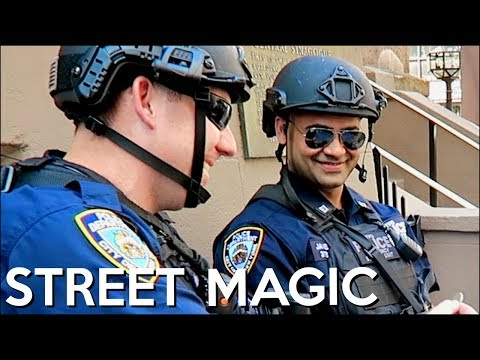 FOOLING POLICE WITH MAGIC