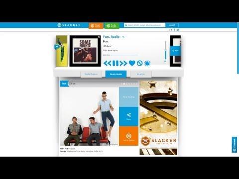 The New Slacker Radio- Web, Android & iOS Apps Mp3