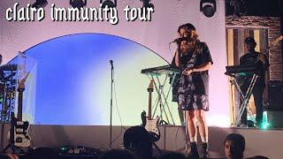 Clairo Immunity Tour Fort Lauderdale vlog + concert footage