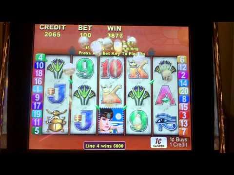 Queen of the Nile Slot Bonus - Aristocrat