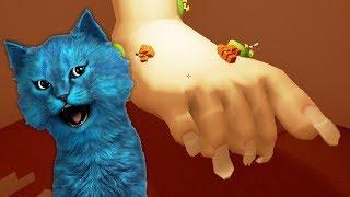 СИМУЛЯТОР НОГИ или СТУПНИ КОТЁНОК ЛАЙК Ashi Wash говорящий котёнок детский летсплей
