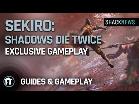 Sekiro: Shadows Die Twice - Exclusive Gameplay
