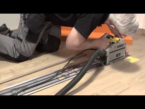 Repair laminate flooring:how to replace a broken plank