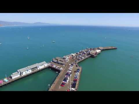 Stearns Wharf Pier Santa Barbara
