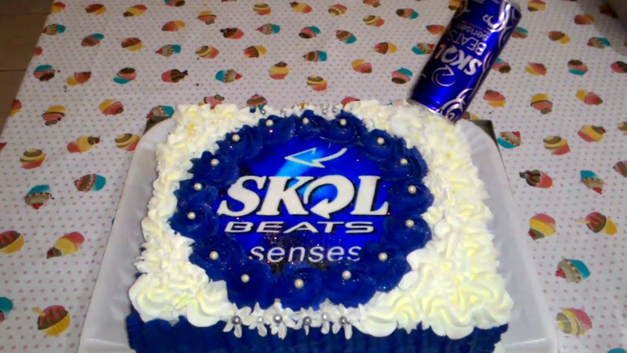 Extremamente Skol beats bolo decorado - YouTube NP43