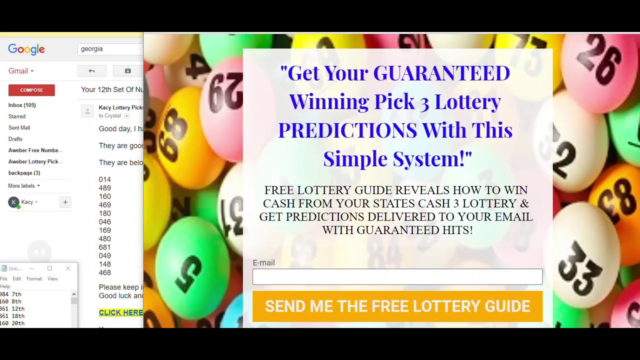 UPDATE 5 NUMBERS HIT IN GEORGIA CASH PICK 3 NUMBERS WORKOUT PREDICTION - YouTube