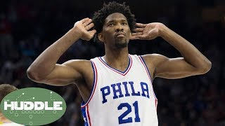 Joel embiid just got paid! good move by the sixers? -the huddle