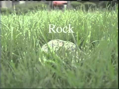 Lawnmower + Rock = 911 (Old MSA Safety Works commercial)