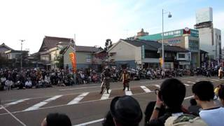 浅い畷の戦いをモチーフにした模擬合戦です。 前田利長、前田慶次郎 v...